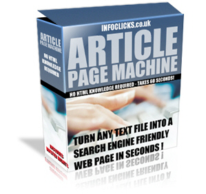 Product picture Article Page Machine Easy Adsense SEO Content Tool
