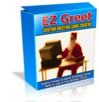 Product picture EZ Greet Christmas Greeting Card Creator + MASTER RESALE RIGHTS