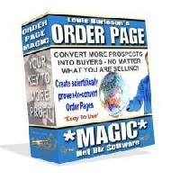 Product picture Order Page Magic Software with Master Resell Rights!