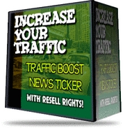 Product picture Traffic Booster NewsTicker Script (.zip) WITH RESALE RIGHTS! - FREE Download