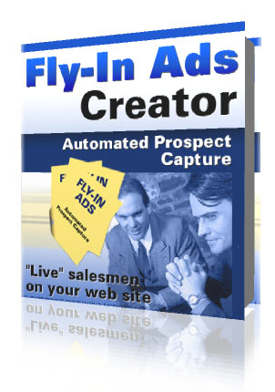 Product picture FLY IN ADS CREATOR - EFFECTIVE SALES TOOL - RESALE INCL