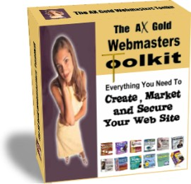 Product picture The AX Gold Software Webmaster Toolkit